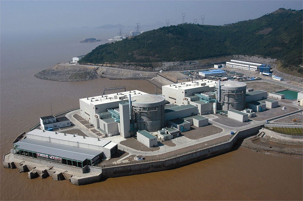 Figure 1 -  Qinshan Candu Reactors at Zhejiang in China