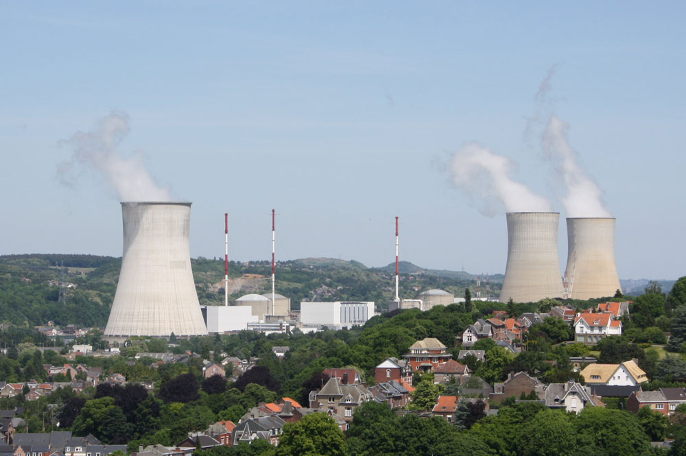 Figure 4 - Tihange Nuclear Power plant in Belgium