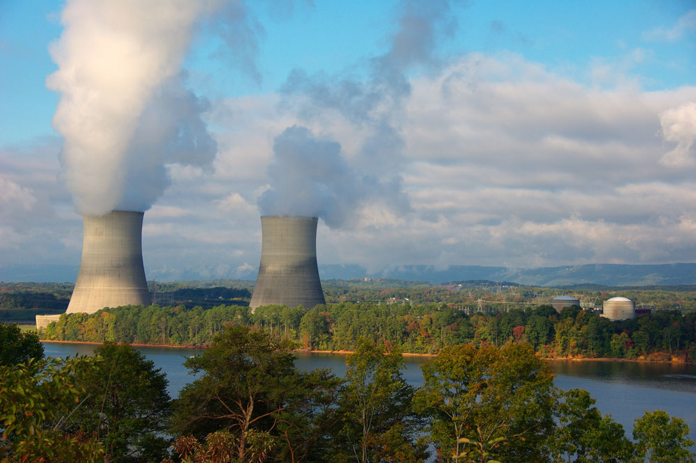 Figure 3 - Sequoyah Nuclear Power plant cooling towers in Tennessee