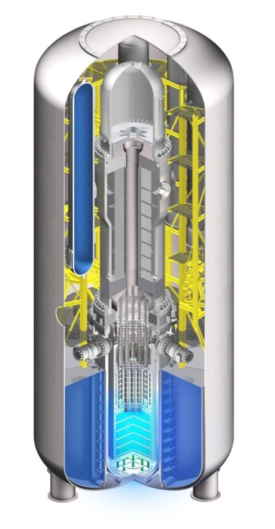 Figure 2 - Westinghouse 225MWe small modular reactor
