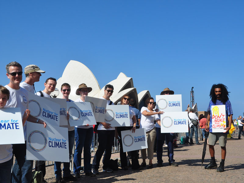 Nuclear for Climate supporters Australia
