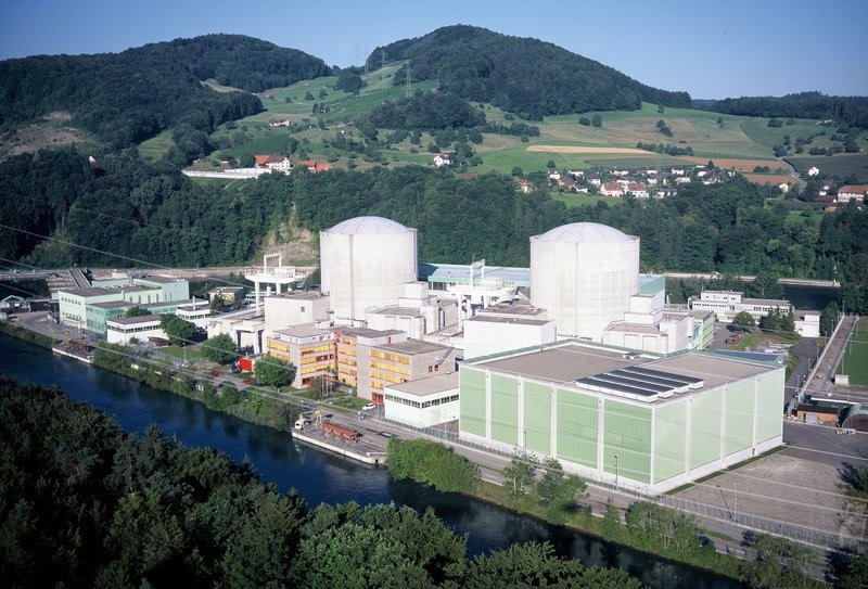 Beznau nuclear power station, Switzerland